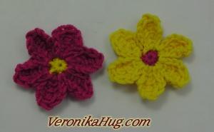 Tunesisch Häkeln - Blume - Häkelblume - Veronika Hug